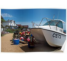 Steephill Cove, Isle of Wight Poster