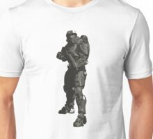 Minimalist Masterchief from Halo Unisex T-Shirt
