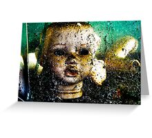 Mercurial Head- In Water Greeting Card
