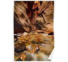 Kanarra Creek Slot Canyon Poster