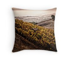 Rubissow Winery Throw Pillow