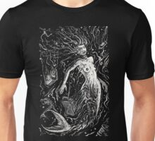 The Mermaids Pollution Torment (for dark background) Unisex T-Shirt