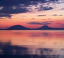 Sunrise at Moosehead Lake by Dandelion Dilluvio