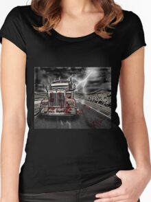 Road Kill !  Women's Fitted Scoop T-Shirt