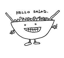Hello Salad Photographic Print