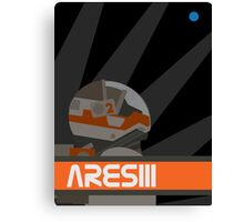 The Martian - Ares III Canvas Print