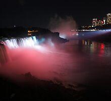 Niagara falls big view by bhavindalal