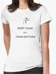 Raptor Training Womens Fitted T-Shirt