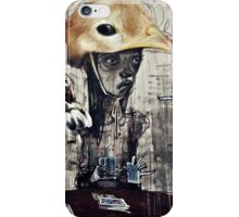 The turn of a friendly card..... iPhone Case/Skin