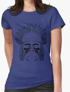 NATIVE BIG CHIEF Womens Fitted T-Shirt