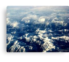 Splendour Of The Rockies Canvas Print