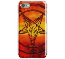 Satanism by Sarah Kirk iPhone Case/Skin