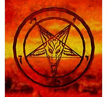 Satanism by Sarah Kirk Photographic Print