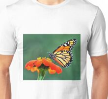 Monarch on a Mexican Sunflower Unisex T-Shirt