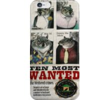 Ten Most Wanted!!! iPhone Case/Skin