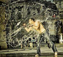 The splash  by Etienne RUGGERI Artwork eRAW