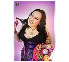 Wicked Cupcake Princess - Alyssa Hedrick Poster