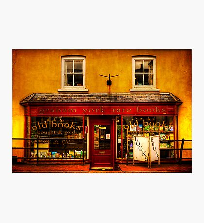 Bookshop Photographic Print
