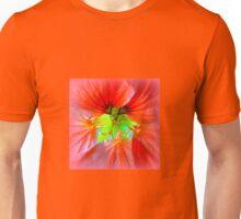 Nasturtium close up Unisex T-Shirt