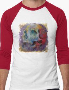 Vintage Skull Men's Baseball ¾ T-Shirt