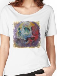 Vintage Skull Women's Relaxed Fit T-Shirt