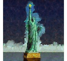 Liberty Stands Alone by Sarah Kirk Photographic Print