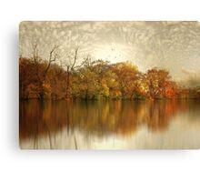 Floating Foliage Canvas Print