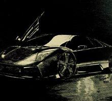 Lamborghini's Raging Bull by Nikki Portanova