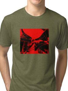 Flags redblack Tri-blend T-Shirt