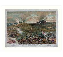 Civil War Battle of Mission Ridge November 25th 1863 Art Print
