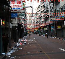 A Street in Kowloon by phototraveler