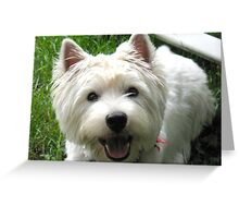 Gray skies are going to clear up! Greeting Card