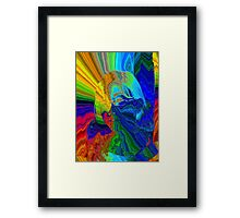 She's A Rainbow Framed Print