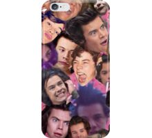 The many faces of Harry iPhone Case/Skin