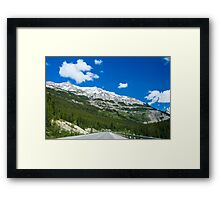 What a view! Framed Print