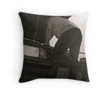 Todd LaPointe, Mustang 4 Throw Pillow