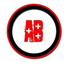 Blood Type AB +  Photographic Print