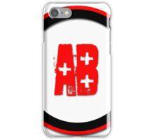 Blood Type AB +  iPhone Case/Skin