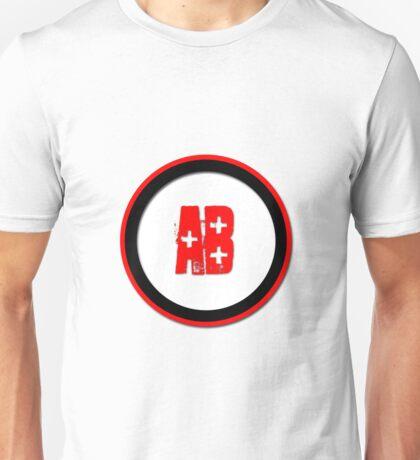 Blood Type AB +  Unisex T-Shirt