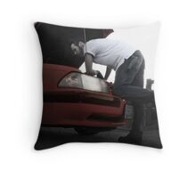 Todd LaPointe, Mustang 5 Throw Pillow