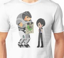 Mass Effect - Grunt and Shepard [Commission] Unisex T-Shirt