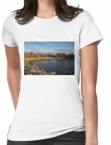 Early Morning Breeze - Lake Ontario, Toronto, Canada Womens Fitted T-Shirt