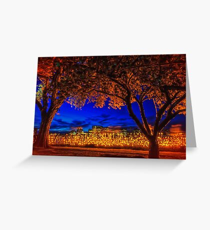 Lucy Moves the Night Greeting Card