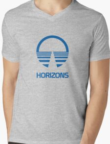 Horizons Mens V-Neck T-Shirt