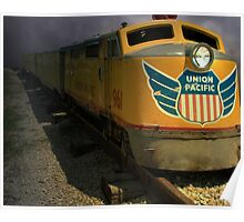 """Union Pacific Train """"The Storm"""" Poster"""