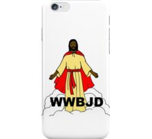 What Would Black Jesus Do iPhone Case/Skin