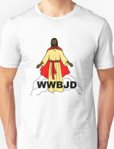 What Would Black Jesus Do Unisex T-Shirt