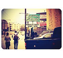 Inner City Life Photographic Print
