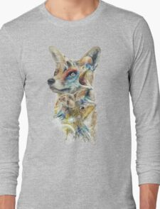 Heroes of Lylat Starfox Inspired Classy Geek Painting Long Sleeve T-Shirt