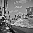 Boat in Bangkok by Laurent Hunziker
